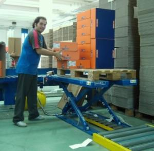Lift Tables increase safety, comfort and productivity